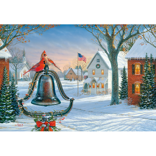 Promotional American Holiday Greeting Card