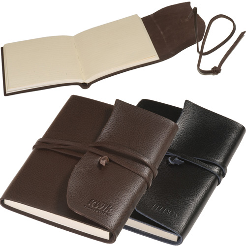 Promotional Americana Leather-Wrapped Journal