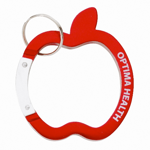Promotional Apple Carabiner