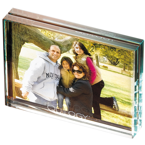 Promotional Atrium Glass Desk Frame - Medium