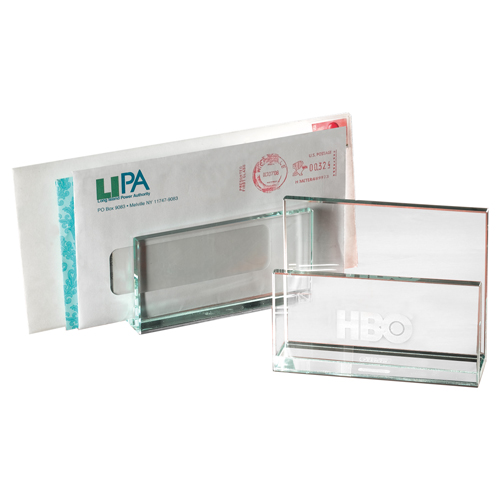 Promotional Atrium Glass Letter Holder