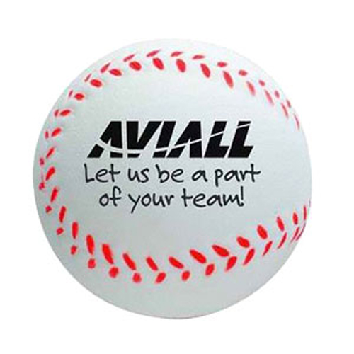 Promotional Baseball Stress Ball