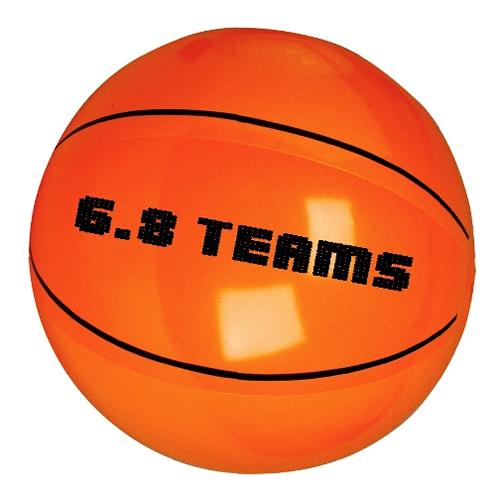 Promotional Basketball Beach Ball - 16