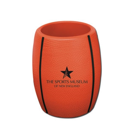 Promotional Sports Can Holder - Basketball