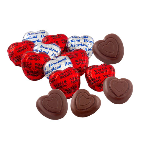 Promotional Belgian Chocolate Hearts