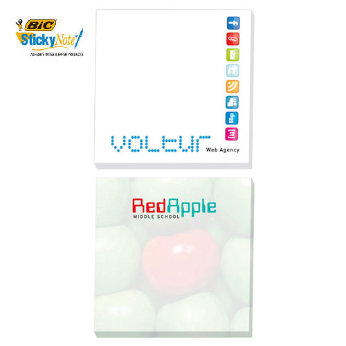 Promotional Bic 3 x 3 Sticky Notes 25 Sheets