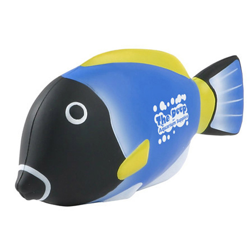 Promotional Blue Tang Fish Stress Ball
