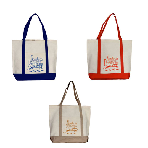 Promotional Boat Canvas Tote-12 oz