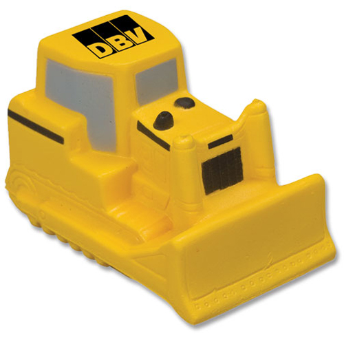 Promotional Bulldozer Stress Ball