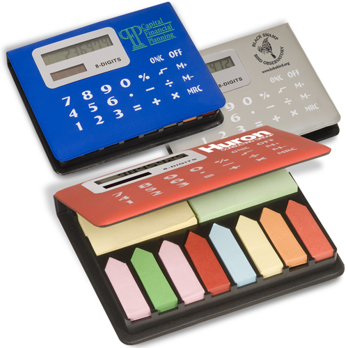Promotional Calculator Sticky Caddy