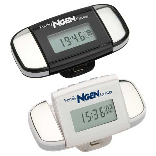 Promotional Calibration Pulse Reader Pedometer