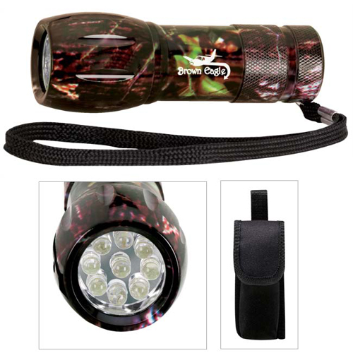 Promotional Camouflage Mini Aluminum LED Flashlight