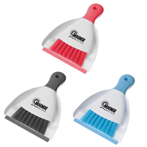 Promotional Clean Up Brush and Dust Pan