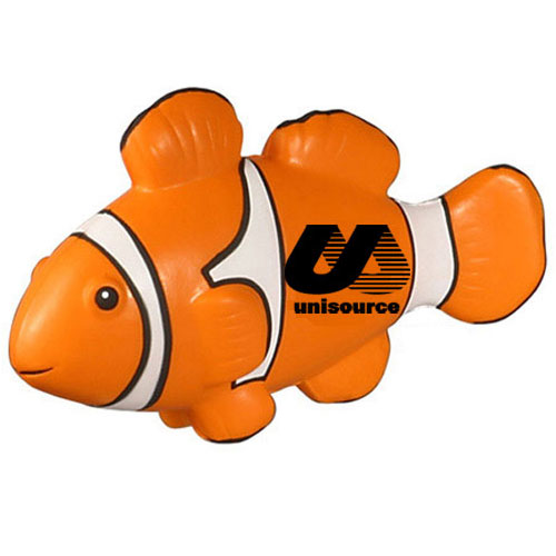 Promotional Clown Fish Stress Ball
