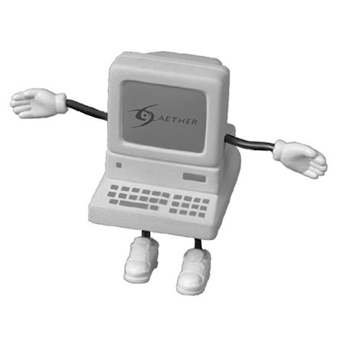 Promotional Computer Figure Stress Ball