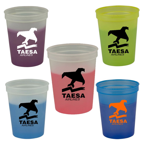 Promotional Cool Color Cup - 16oz