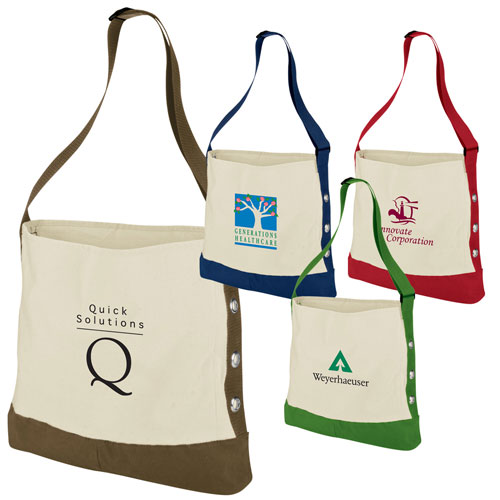 Promotional Cotton Grommet Sport Tote