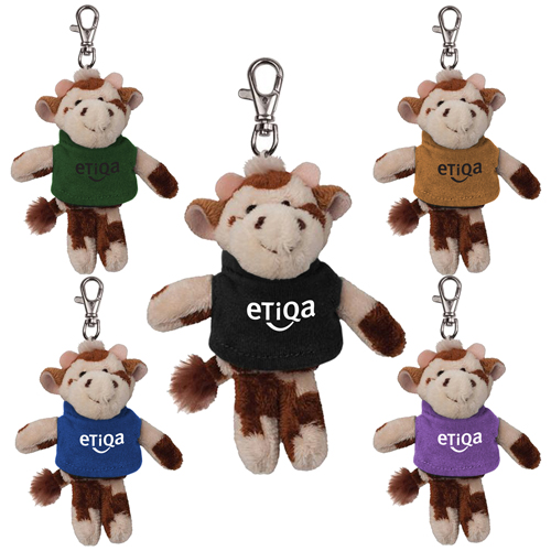 Promotional Cow Wild Bunch Key Tag