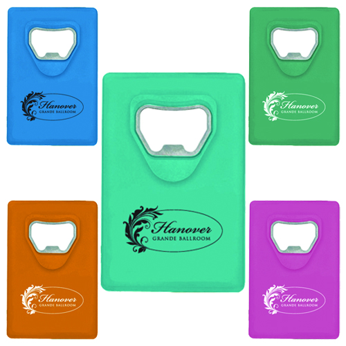 Promotional Credit Card Bottle Opener