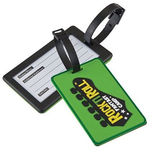 Promotional Custom 2-D Luggage Tag
