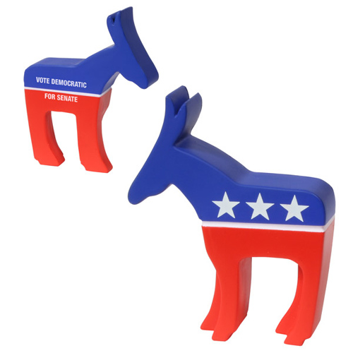 Promotional Democratic Donkey Stress Ball