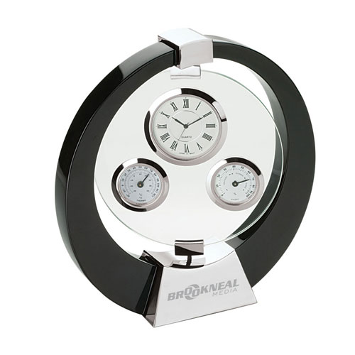Promotional Desk Clock and Weather Station