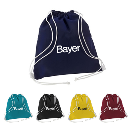Promotional Double Pull Drawcord Bag