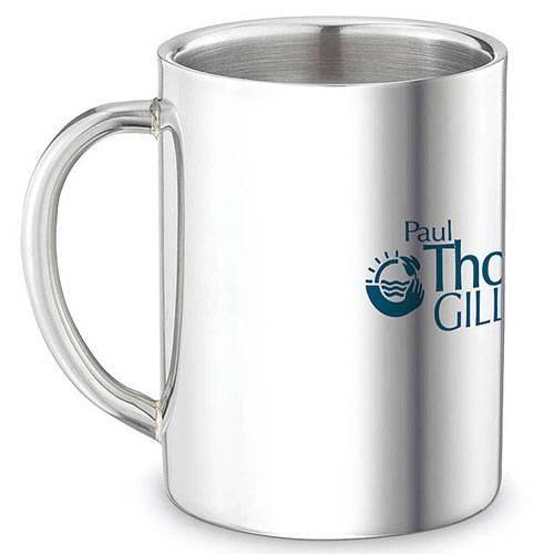 Promotional Double Wall Stainless Steel Mug - 9oz