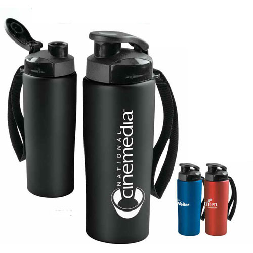 Promotional Easy-Grip Stainless Water Bottle -18 oz