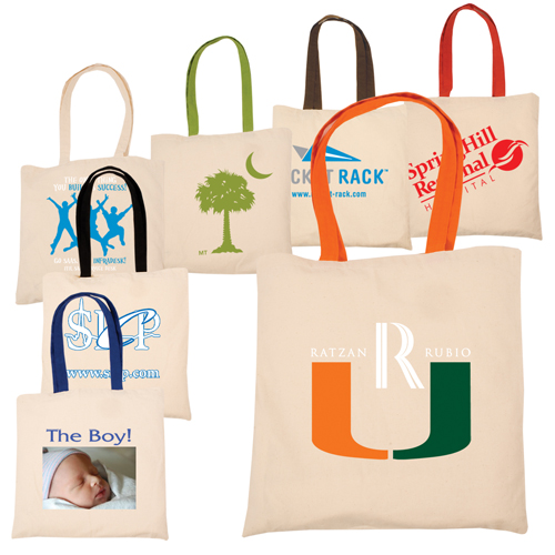 Promotional Econo Cotton Tote - 4 Color Process