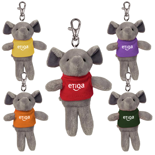 Promotional Elephant Wild Bunch Key Tag