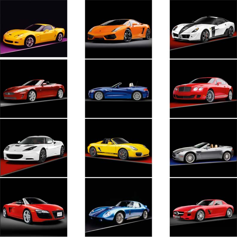 Promotional Exotic Sports Cars Calendar