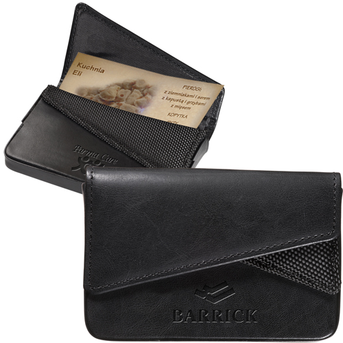 Promotional Fairview Business Card Case