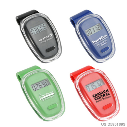 Promotional Fitness First Pedometer