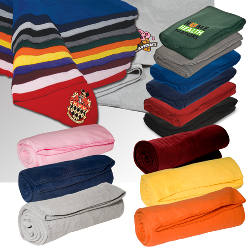 Promotional Fleece Throw Blanket