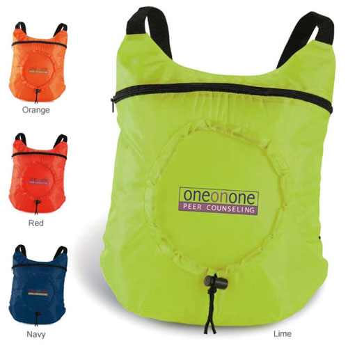 Promotional Fold Up Backpack