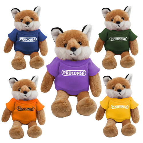 Promotional Fox Mascot Stuffed Animal