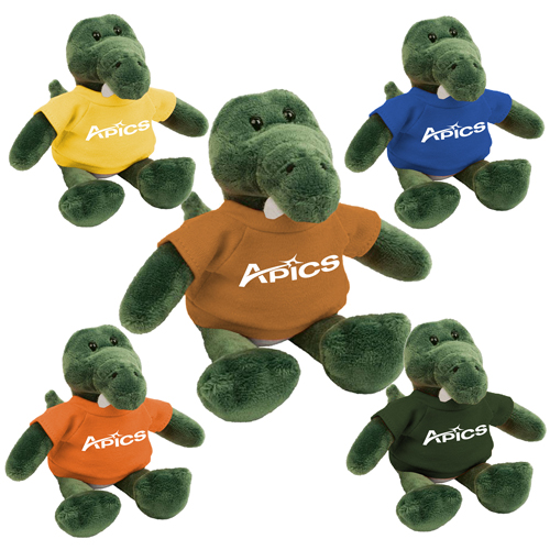 Promotional Gator Mascot Stuffed Animal