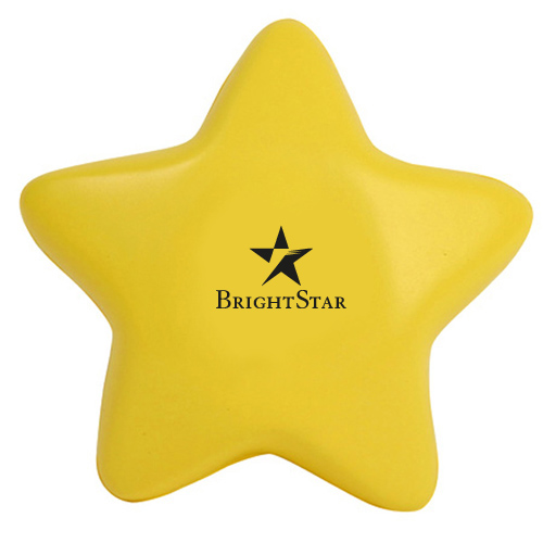Promotional Gel-ee Gripper Star Stress Ball