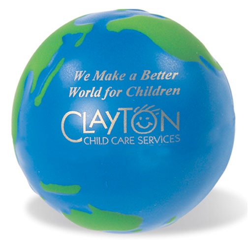 Promotional Globe Stress Reliever