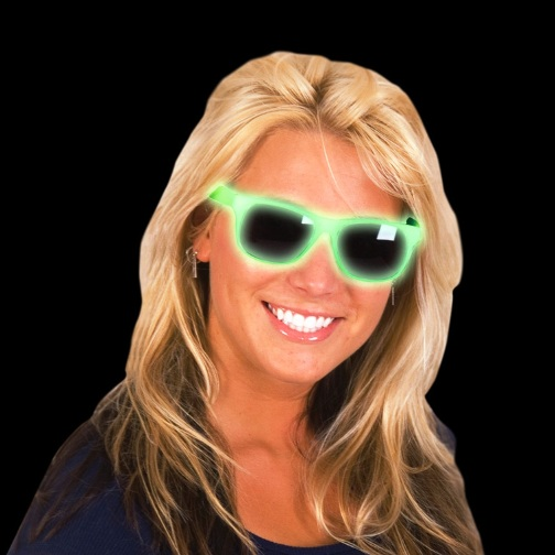 Promotional Glow Sunglasses