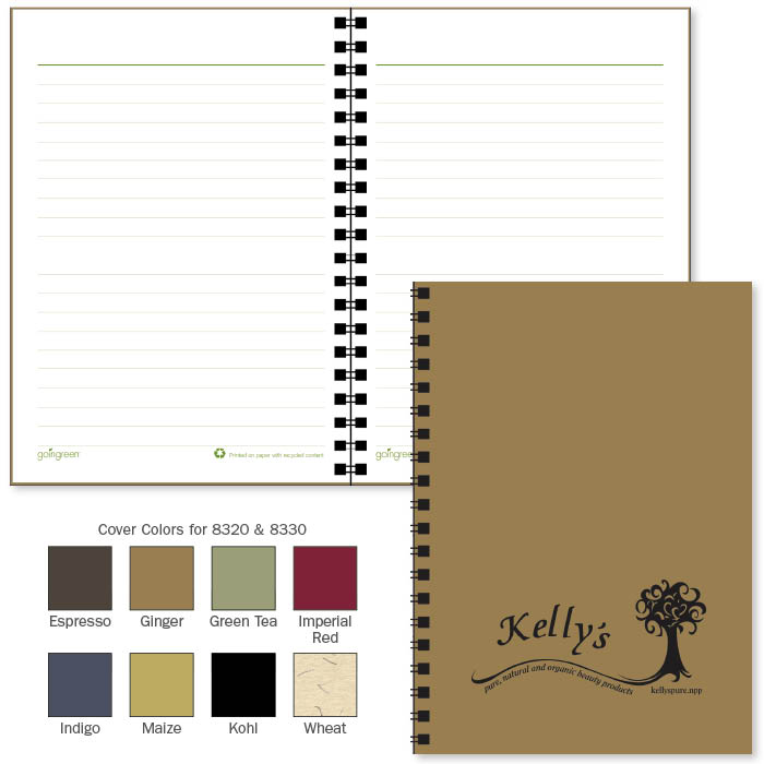 Promotional goingreen® 5x7 Journal