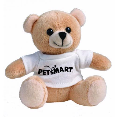 Promotional Golden Bear Small Stuffed Animal