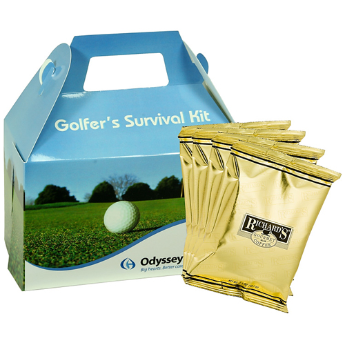 Promotional Gourmet Gift Box - Golf Design