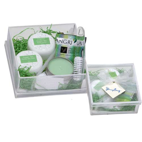 Promotional Green Tea Spa Box