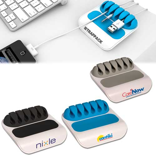 Promotional Gumbite Stoppi Desktop Cable Manager