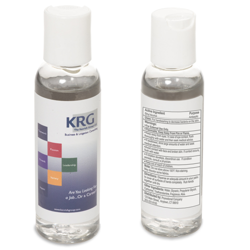 Promotional Hand Sanitizer 2 oz