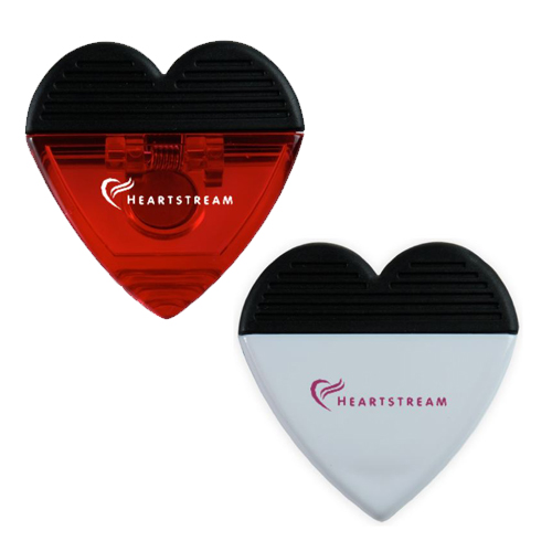 Promotional Heart Magnet Clip