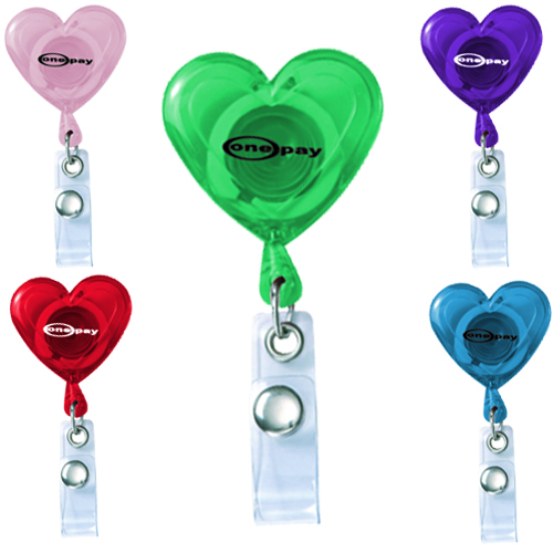 Promotional Heart Secure-A Badge