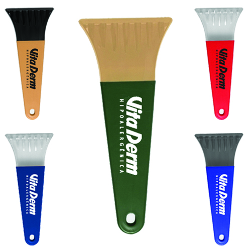 Promotional Heavy Duty Polar Ice Scraper - Recycled